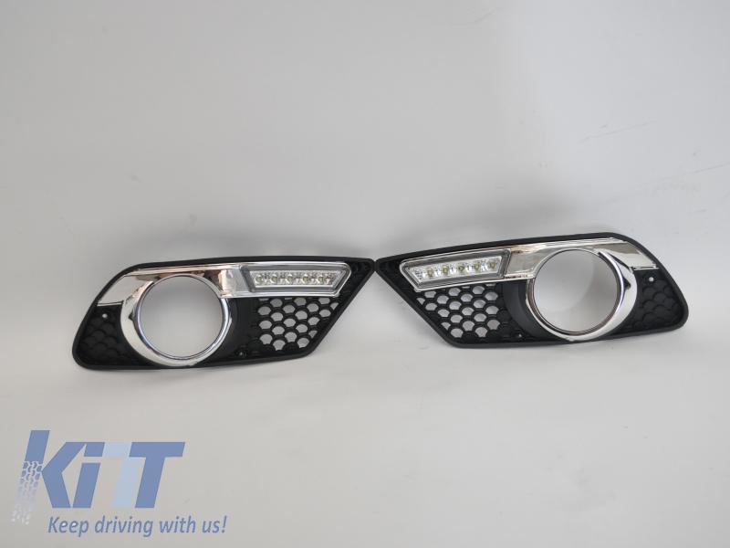 Griglia completa di luci diurne Mercedes Benz W204 Sport
