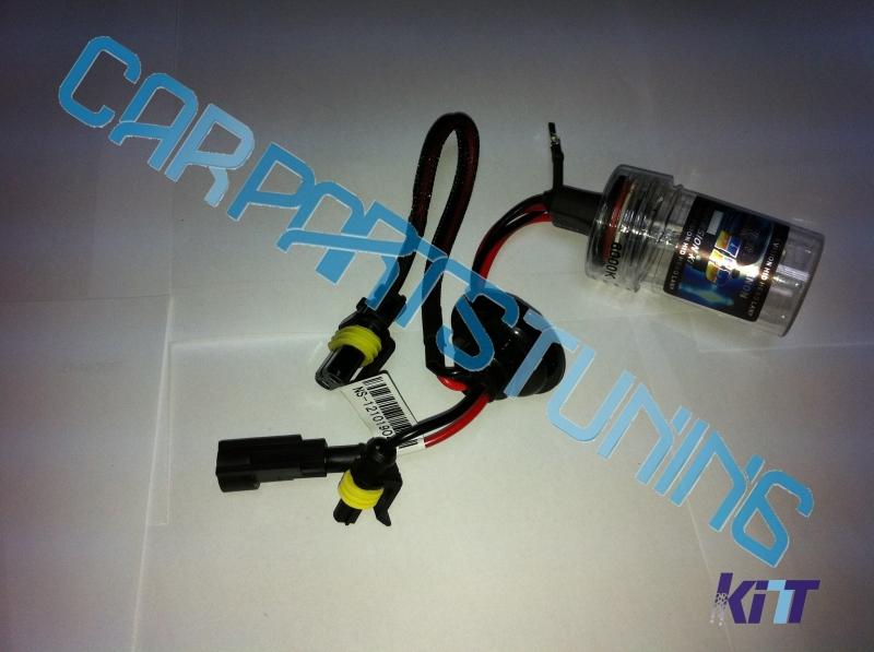 Lampada xenon H1, H7, H9, H11, Hb3, Hb4