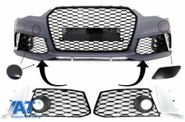 Accesorii Bara Fata compatibil cu AUDI A6 C7 4G Facelift (2011-2018) RS6 Design - FBPAUA64G