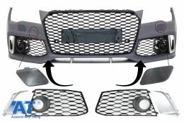 Accesorii Bara Fata compatibil cu AUDI A7 4G (2010-2018) RS7 Design - FBPAUA74G