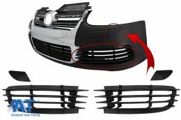 Accesorii Bara Fata compatibil cu VW Golf V 5 (2003-2007) Jetta (2005-2010) R32 Look - FBPVWG5R32A