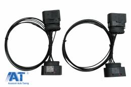 Adaptor Cablu Upgrade Faruri HID Xenon compatibil cu VW GOLF 6 VI (2008-2012) - HLACVWG6
