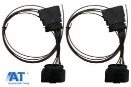 Adaptor Cablu Upgrade Faruri HID Xenon compatibil cu VW Golf 7 VII (2013-2017) - HLACVWG7
