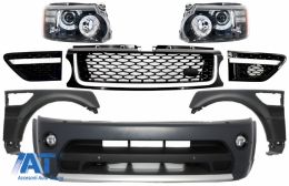 Ansamblu Complet Facelift Range Rover Sport 2005-2013 L320 Autobiography Design - COFBRRSAHLB