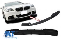 Ansamblu Difuzor de aer cu Prelungire bara fata compatibil cu BMW F10 F11 Seria 5 (2011-2017) M-Performance Design - CORDBMF10MPSOTH