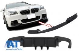 Ansamblu Difuzor de aer cu Prelungire Bara fata BMW F10 F11 Seria 5 (2011-2014) M-Performance Design - CORDBMF10MPDO