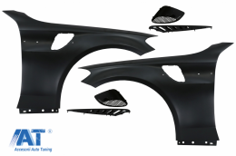 Aripi Laterale compatibile cu Mercedes C-Class W205 S205 C205 A205 (2014-2020) GT Look - FFMBW205GT