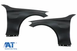 Aripi Laterale compatibile cu Mercedes C-Class W205 S205 C205 A205 (2014-2020) C63 Look