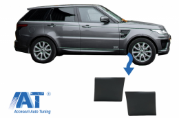 Bandouri Aripi Fata compatibile cu Land Rover Range Rove Sport L494 (2013-up) Negru - LBR14037