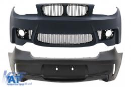 Bara Fata Bara Spate Completa compatibil cu BMW Seria 1 E81/E87 (2004-11) 1M Design + SRA - COFBBME87M1WOP