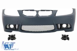 Bara Fata BMW Seria 3 E90 Sedan E91 Touring (04-08) (Non LCI) M3 Design cu Proiectoare ceata - COFBBME90M3P