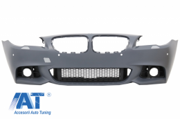 Bara Fata BMW Seria 5 F10 F11 LCI (2014-2017) M-Technik Design Fara Proiectoare - FBBMF10LCIMTWF