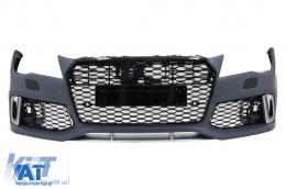 Bara Fata compatibil cu AUDI A7 4G (2010-2014) RS7 Design cu Grile - FBAUA74GRSWOG