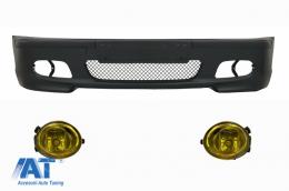 Bara Fata compatibil cu BMW Seria 3 E46 4D M-technik cu Proiectoare Ceata Galbene