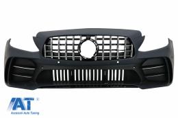 Bara Fata compatibil cu Mercedes C-Class W205 S205 A205 C205 (2014-2020) GT R Design - FBMBW205GTM