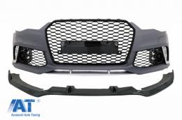 Bara Fata Completa cu Prelungire compatibil cu AUDI A6 4G RS6 Design (2011-2015) RS6 Design - COFBAUA64GRSWOGFBS