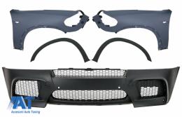 Bara Fata cu Aripi fata si extensii compatibil cu BMW X5 E70 (2007-2013) M-Design - COFBBME70