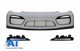 Bara Fata cu DRL Full LED compatibil cu Porsche 981 Cayman & Boxster (2012-2016) GT4 Design - COFBPOBXDRL