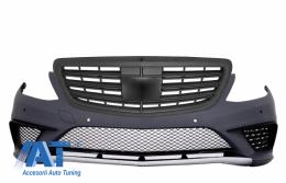Bara Fata cu Grila Centrala compatibil cu MERCEDES Benz W222 S-Class (2013-up) S63 A-Design - COFBMBW222AMGS63BB