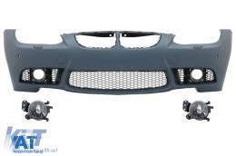 Bara Fata cu Proiectoare Ceata Lumini de Ceata compatibil cu BMW Seria 3 E92 E93 (2006-2009) M3 Design Cu PDC