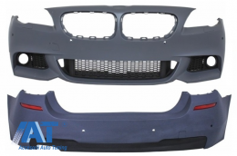 Bara Fata fara Proiectoare Ceata cu Bara Spate BMW Seria 5 F11 Touring (2011+) M-Technik Design - COCBBMF11MTPDCWF