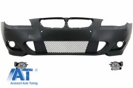 Bara Fatac cu Proiectoare Ceata compatibil cu BMW Seria 5 E60 E61 2003-2007 M-Technik Design