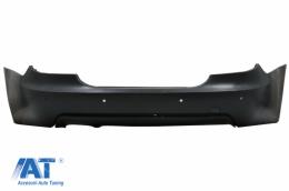 Bara spate compatibil cu BMW Seria 5 E60 LCI (2007-2010) M-Technik Design cu PDC 18mm - RBBME60MTPDC18