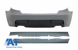 Bara Spate cu Praguri Laterale compatibil cu BMW Seria 1 E87 (2004-2011) M-Technik Design Fara PDC