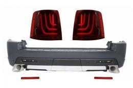 Bara Spate Land compatibil cu ROVER Range compatibil cu ROVER Sport (2005-2010) L320 Autobiography Design Cu Stopuri Glohh GL-3