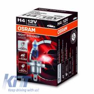 Bec Auto Halogen Osram Night Breaker Unlimited H4 12V 60/55W - 64193NBL-01B