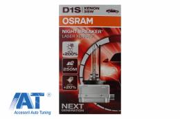 Bec auto OSRAM XENARC NIGHT BREAKER LASER XENARC D1S HID Xenon Lamp 66140XNL 35W - 66140XNL