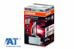 Bec Auto Xenon pentru far Osram XENARC NIGHT BREAKER UNLIMITED 66140XNB D1S 35W - 66140XNB