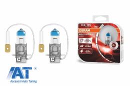 Becuri Auto Halogen compatibil cu far Osram Night Breaker Laser H3 12V 55W - 64151NL-HCB
