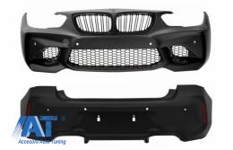 Body Kit Bara Fata si Bara Spate compatibil cu BMW Seria 1 F20 F21 LCI (2015-06.2019) M2 Design - COFBBMF20M2LCIRB
