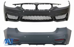 Body Kit compatibil cu BMW seria 3 F30 (2011-2015) F30 LCI (2016+) M3 Sport Design - COFBBMF30M3DWFRB