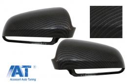 Capace oglinzi Audi S3 A3 (8P), S4 A4 (B6, B7), S6 A6 (4F) Carbon Design - MCAUA6EXC