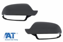 Capace oglinzi compatibil cu AUDI A4 B8 Facelift (2012-2015), AUDI A5 8T Facelift (2012-2016) Carbon Real - 89716CFR
