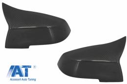 Capace oglinzi compatibil cu BMW Seria 1/2/3/4 Carbon Real - 89713CFR