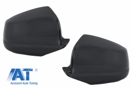 Capace oglinzi compatibil cu BMW Seria 5 F07 F10 F11 F18 Pre-LCI (2011-2013) Carbon Real - 89706CFR