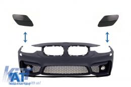 Capace Spalatoare Faruri Bara Fata BMW Seria 3 F30 (2011-up) M3 M-tech Design - SRABMF30M3