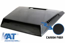Capota compatibil cu MERCEDES G-Class W463 (1989-2017) G63 G500 Fibra de Carbon B-Design - HDMBW463B