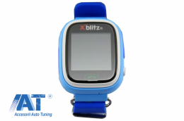 Ceas Smartwatch Xblitz Love Me Pentru copii, Albastru - XBLOVEMEB