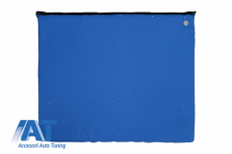 COVORAS Albastru PENTRU DEZINFECTARE, Impermeabil, Lavabil la 90 grade - MATRALBLUE