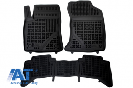 Covorase Presuri Auto din cauciuc compatibil cu TOYOTA Hilux (2015-Up) - 201431