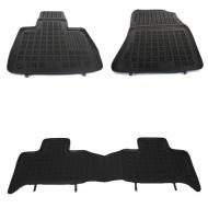 Covorase Presuri Auto Negru compatibil cu TOYOTA Rav4 IV , RAV4 Hybrida 2013+ - 201425