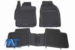 Covorase Presuri Auto Negru compatibil cu TOYOTA Corolla XI 2012 - 201426