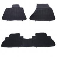 Covorase Presuri Auto Negru din Cauciuc compatibil cu BMW X5 (F15) 2013-, X6 (F16) 2014- - 200718