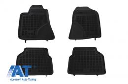 Covorase Presuri Auto Negru din Cauciuc compatibil cu TOYOTA Avensis 2003 - 2009 - 201404
