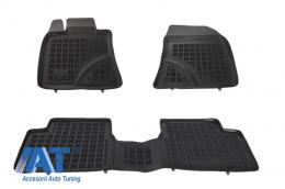 Covorase Presuri Auto Negru din Cauciuc compatibil cu TOYOTA Avensis 2009-  - 201405