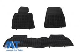 Covorase Presuri Auto Negru din Cauciuc compatibil cu TOYOTA Land Cruiser J200 V8 2008 - 201413